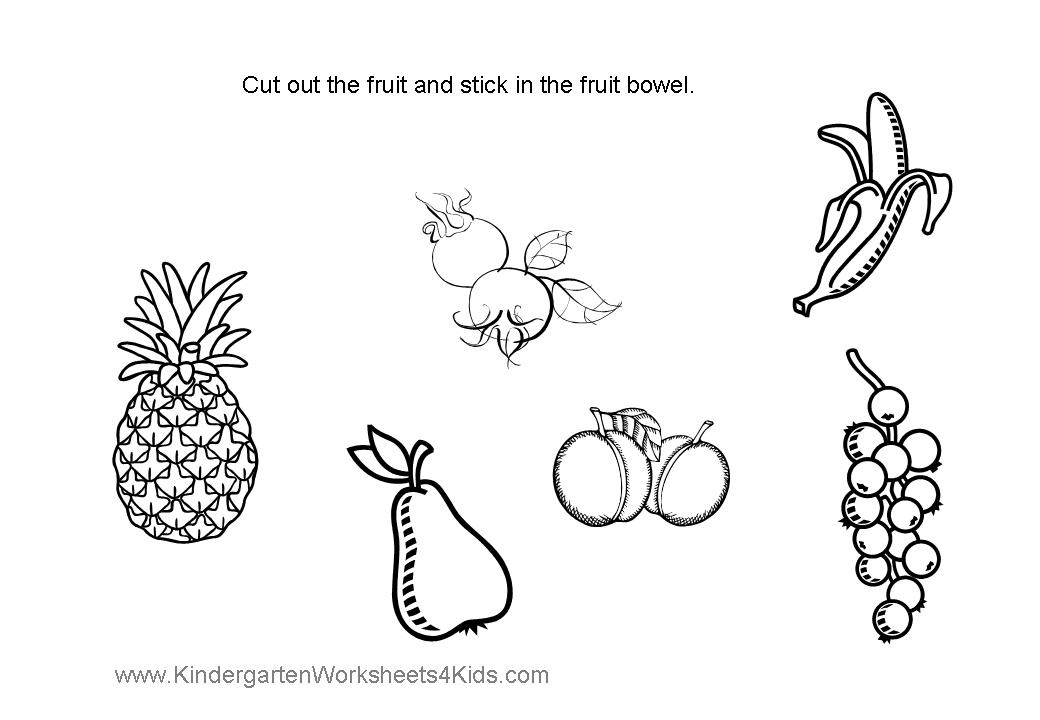 Cut And Color : cutting activities colouring pages