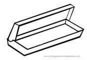 picture of empty pencil box