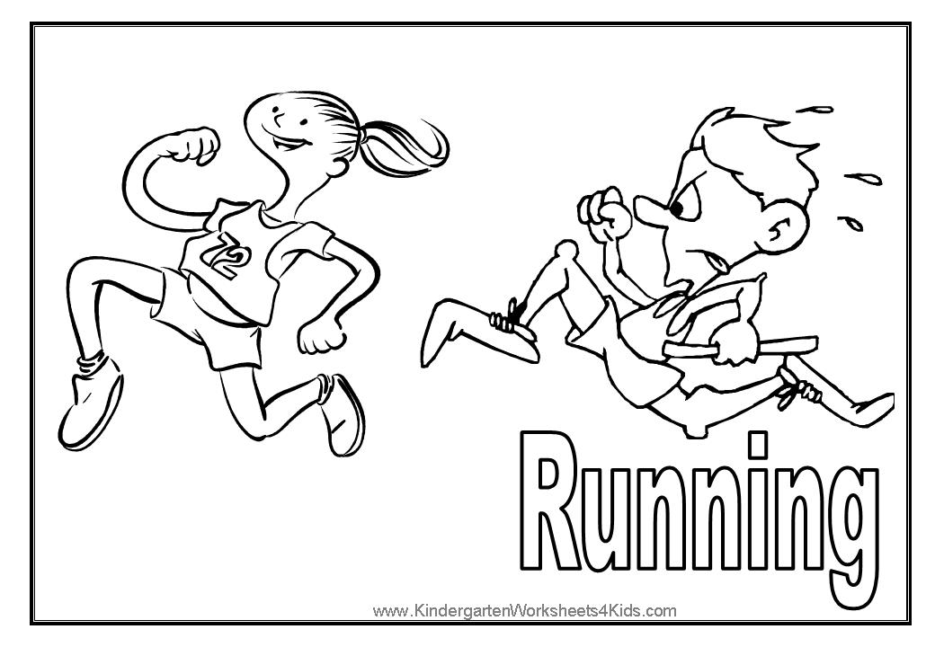 coloring pages for track - photo#34
