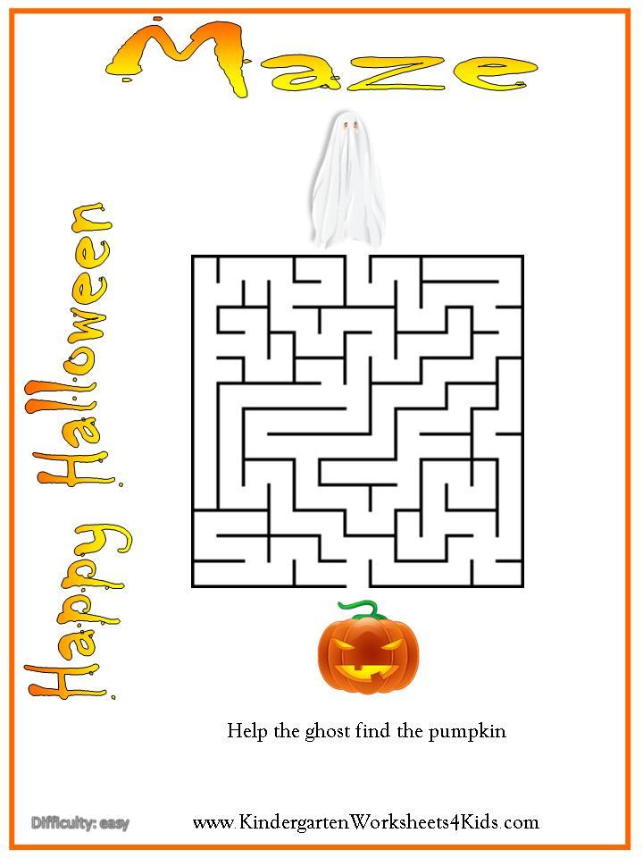 ImageSpace - Easy Halloween Mazes | gmispace com