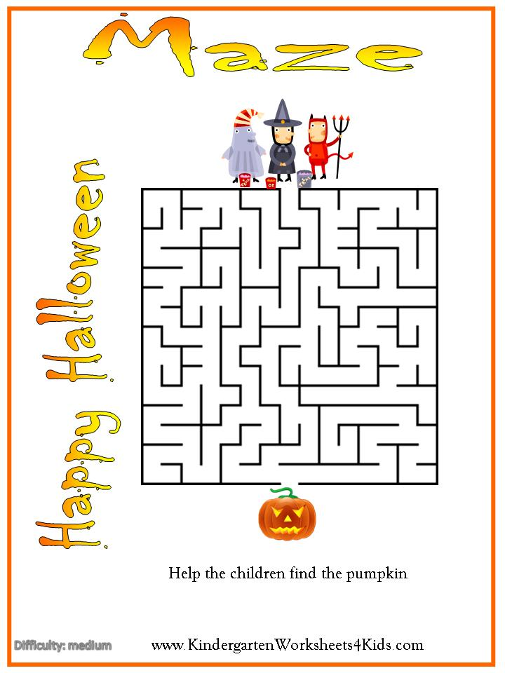 Halloween Worksheets Games Activities And Printables