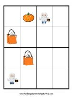 free Halloween sudoku
