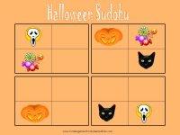 free printable Halloween sudoku