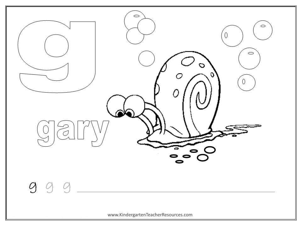 Printable Worksheets letter h worksheets for kindergarten : SpongeBob Alphabet Worksheets - Lowercase Letters