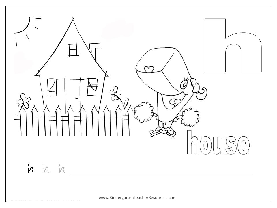 SpongeBob Alphabet Worksheets Lowercase Letters – Letter H Worksheets Kindergarten