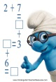 Smurf Worksheets