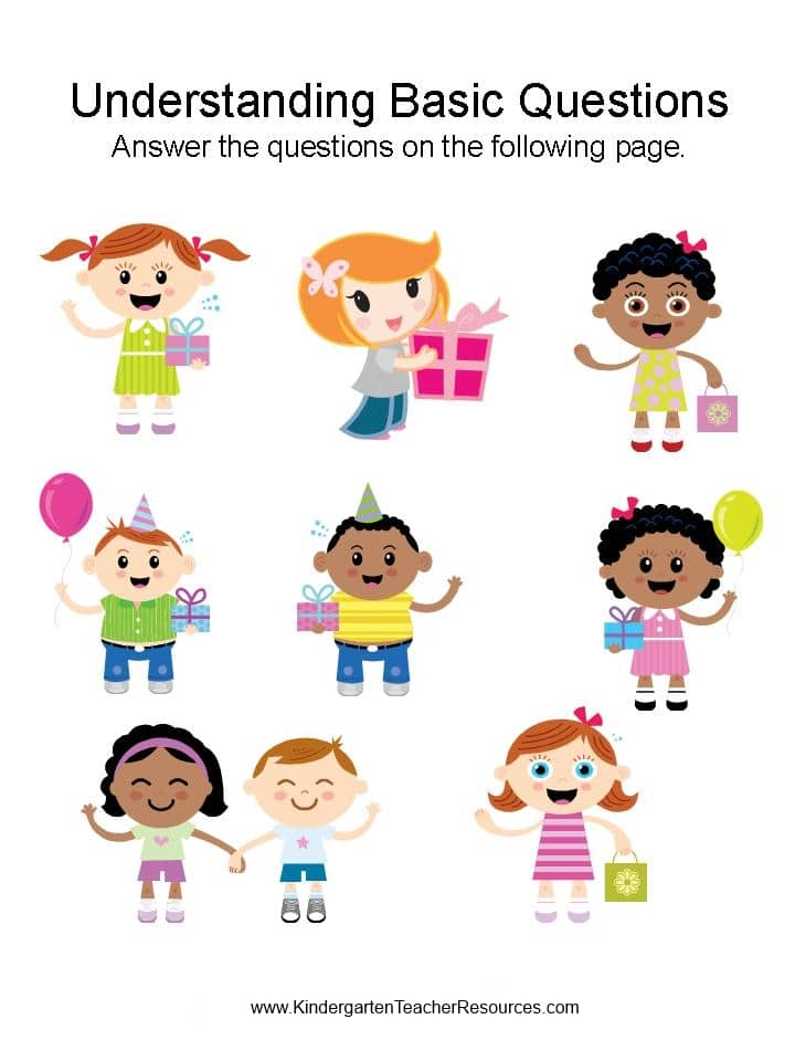 kindergarten worksheets ⋆ Kindergarten Teacher Resources