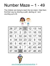 Kindergarten Worksheet