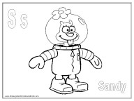 Alphabet Coloring Pages - S