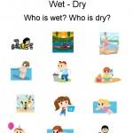 Kindergarten Worksheets - Opposites