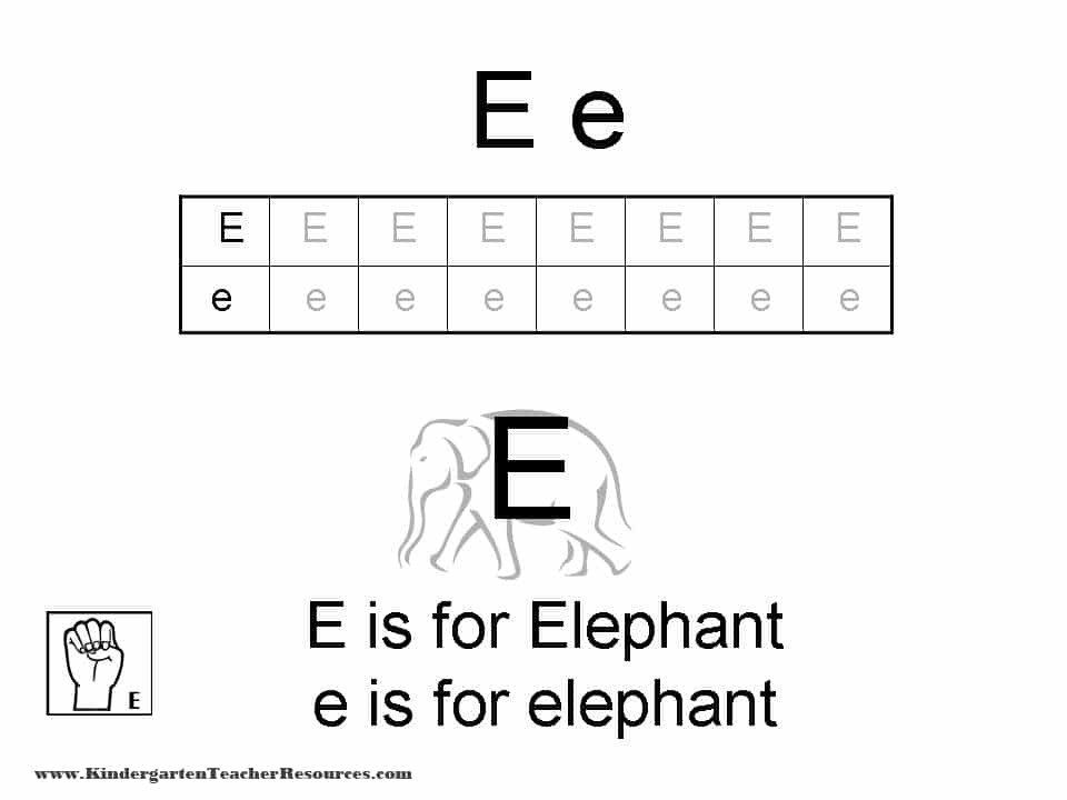 math worksheet : letter e worksheets : Letter E Worksheets Kindergarten