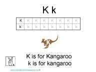 Kindergarten Worksheets - Letter K