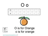 Kindergarten Worksheets - Letter O