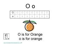 Kindergarten Worksheets - Letter O