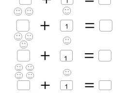 math worksheet : adding 1 worksheets kindergarten  kindergarten worksheets for  : Worksheet For Kindergarten 1