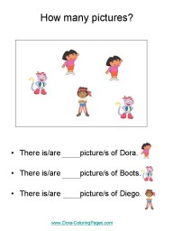 Kindergarten Worksheets numbers 1 and 2
