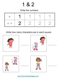 math kindergarten worksheets