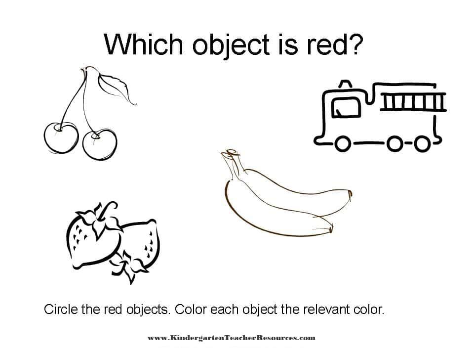 color worksheets identifying colors. Black Bedroom Furniture Sets. Home Design Ideas