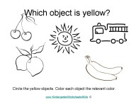 worksheets to learn colors