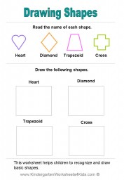 Shape Worksheet