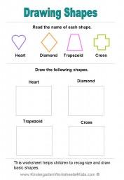 Shape Worksheet