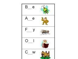Missing Letter Worksheets (Animals)
