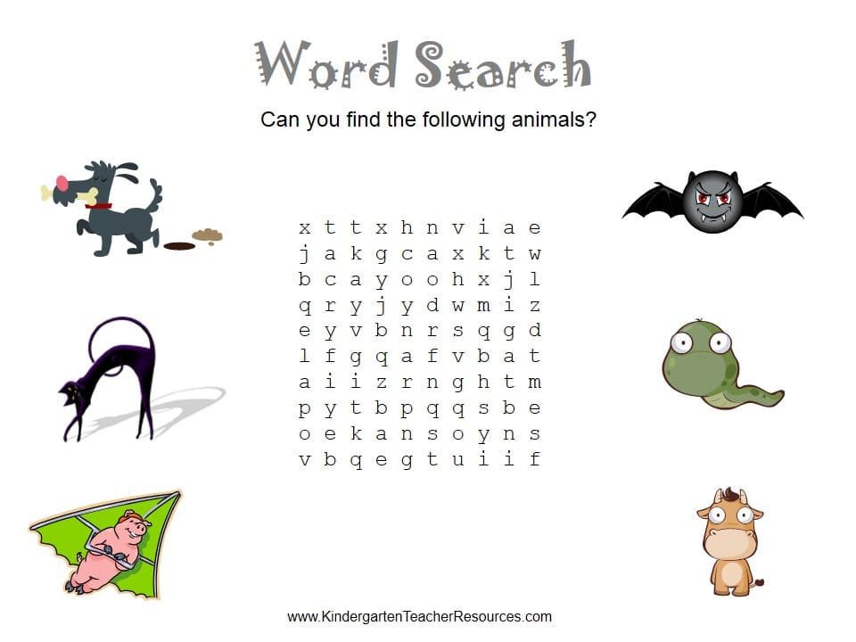 This word search puzzle is a little more complex. The words that you ...