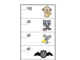 Beginning Sounds Worksheets (Animals)