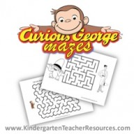 Curious George Mazes