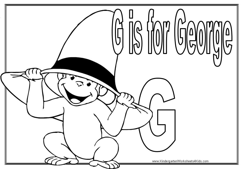 Kindergarten Worksheets with Curious Gee