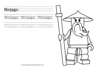 ninjago kindergarten worksheet
