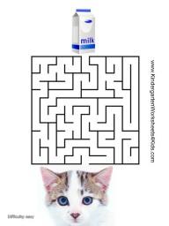 free printable maze