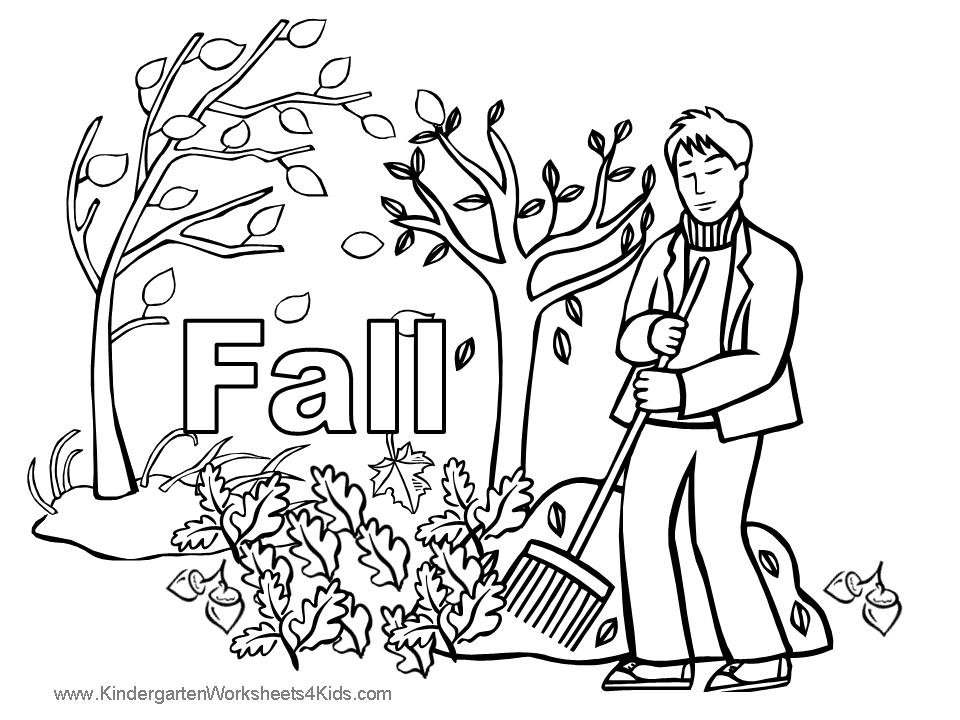 fall coloring pages free - fall coloring pages