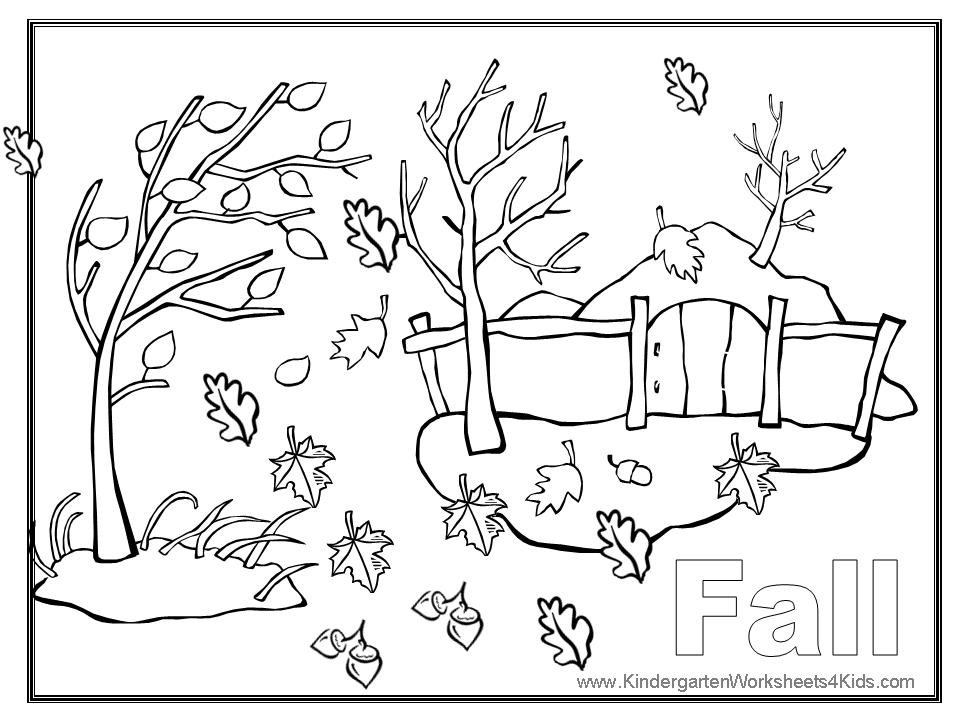 coloring pages for fall - photo#7
