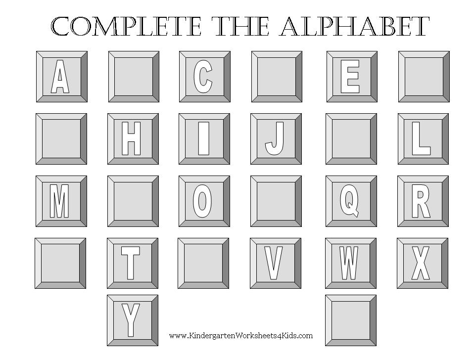 Worksheet 13231982 Missing Alphabet Worksheets for Kindergarten – Printable Kindergarten Worksheets Alphabet