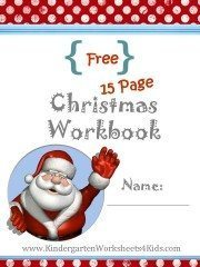 christmas workbook