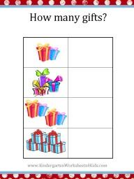 Free christmas worksheet