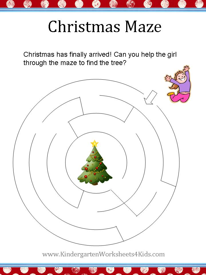 Christmas Worksheets – Christmas Math Worksheets for First Grade