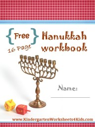 hanukkah workbook