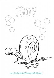 Gary Coloring Page