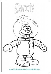 Spongebob coloring sheets