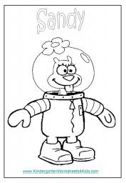 Spongebob coloring sheets
