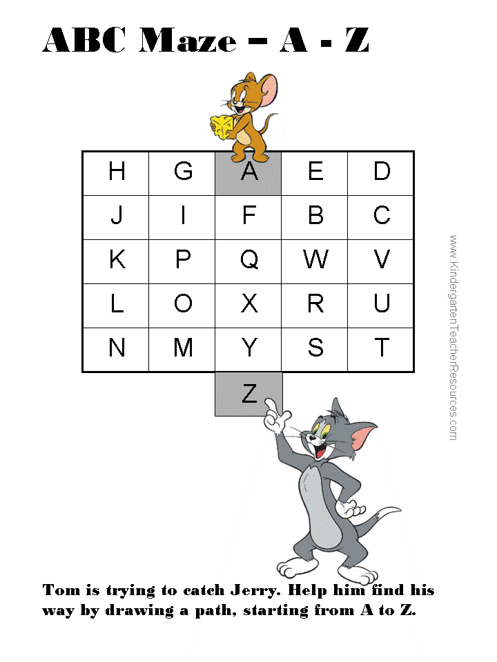 Alphabet Maze furthermore Addition Wfun Wfun X in addition Printable Mazes also Original moreover Questions History Banana Worksheets Kids. on kindergarten worksheets that you can print