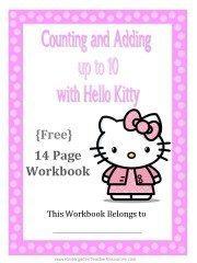 Hello Kitty Math Workbook