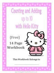 Hello Kitty Math Workbook