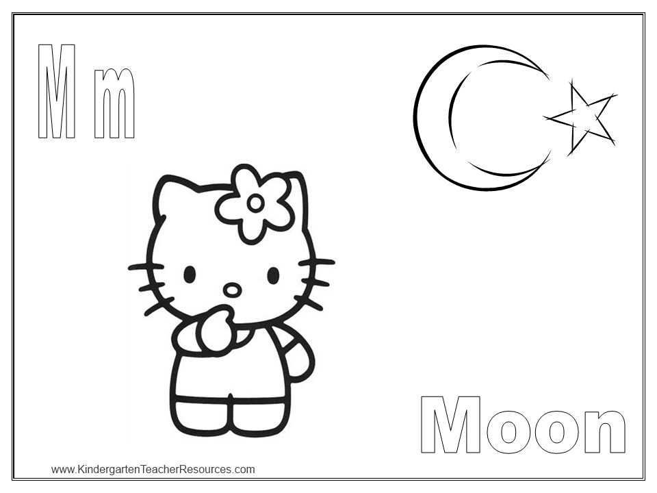 dessin a imprimer hello kitty gratuit