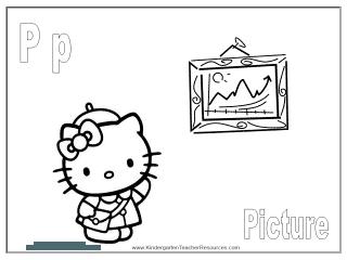 Kindergarten printable