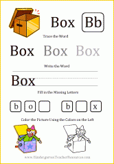 Printable short vowel worksheets