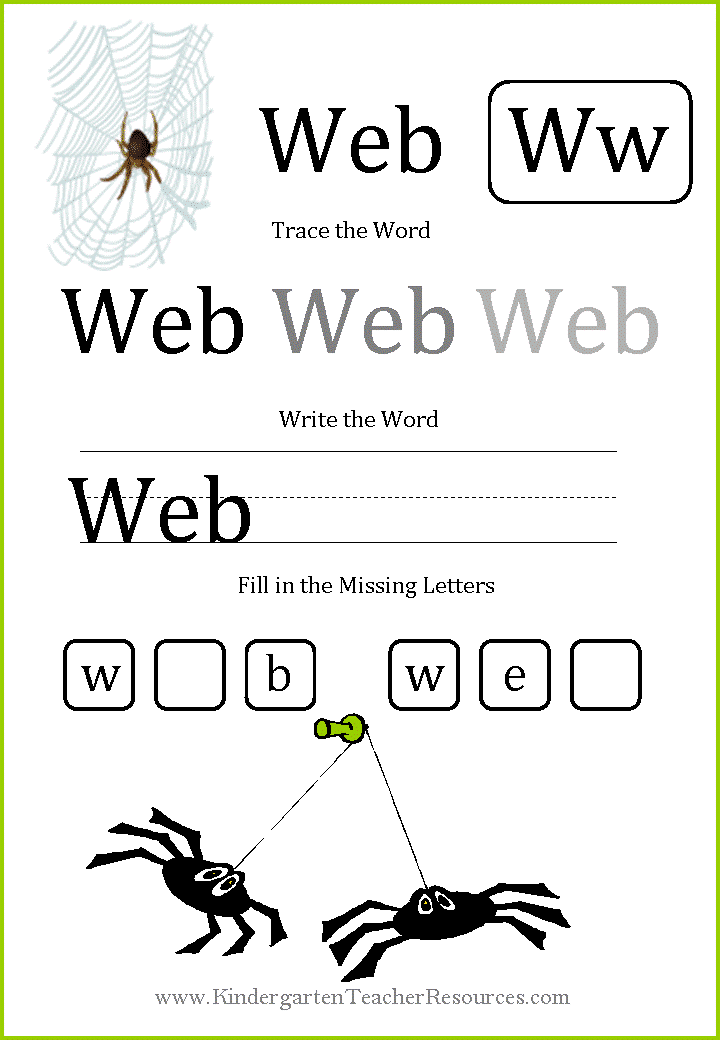 Short Vowel Worksheets on spelling worksheets