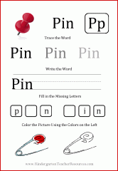 free printable worksheet